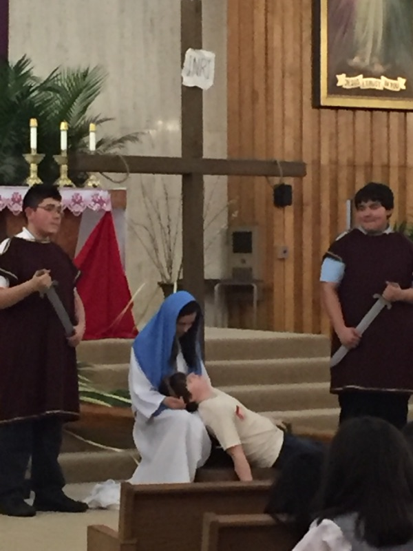Living Stations of the Cross by SATG Eight Graders