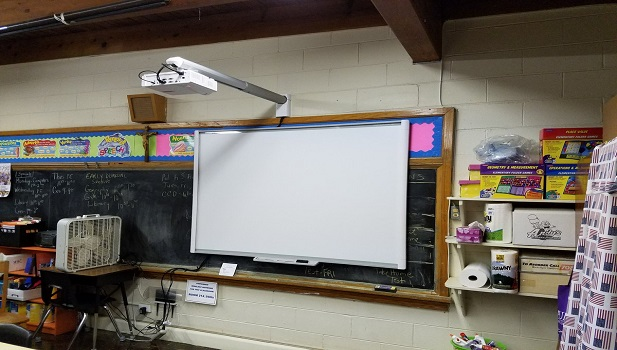 SMART boards, phase 1